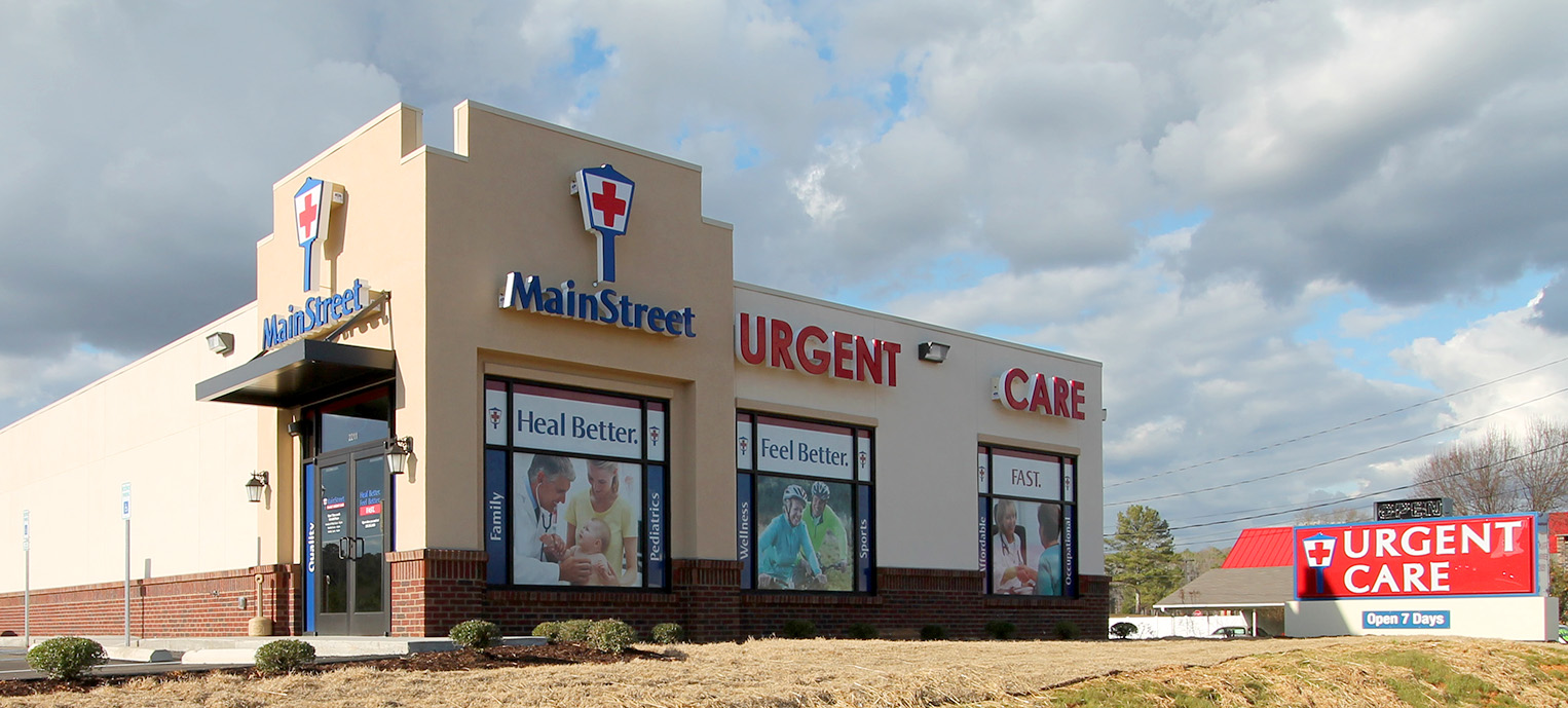 Maxus Construction Main Street Urgent Care